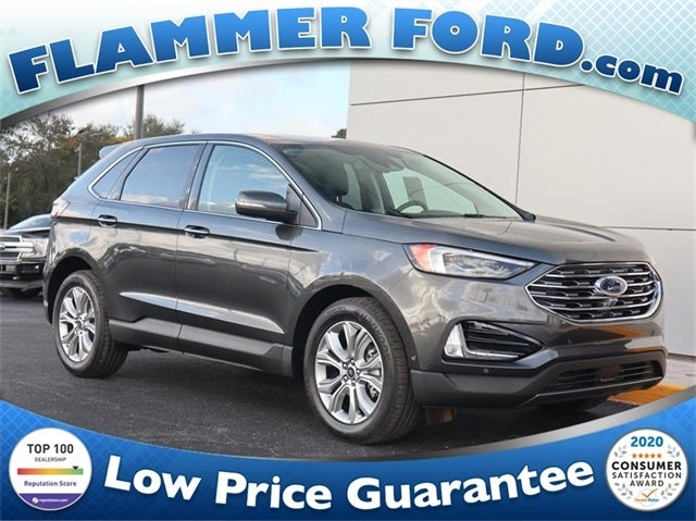 Karl Flammer Ford >> 2020 Ford Edge Titanium in Spring Hill, FL | Tampa Ford ...